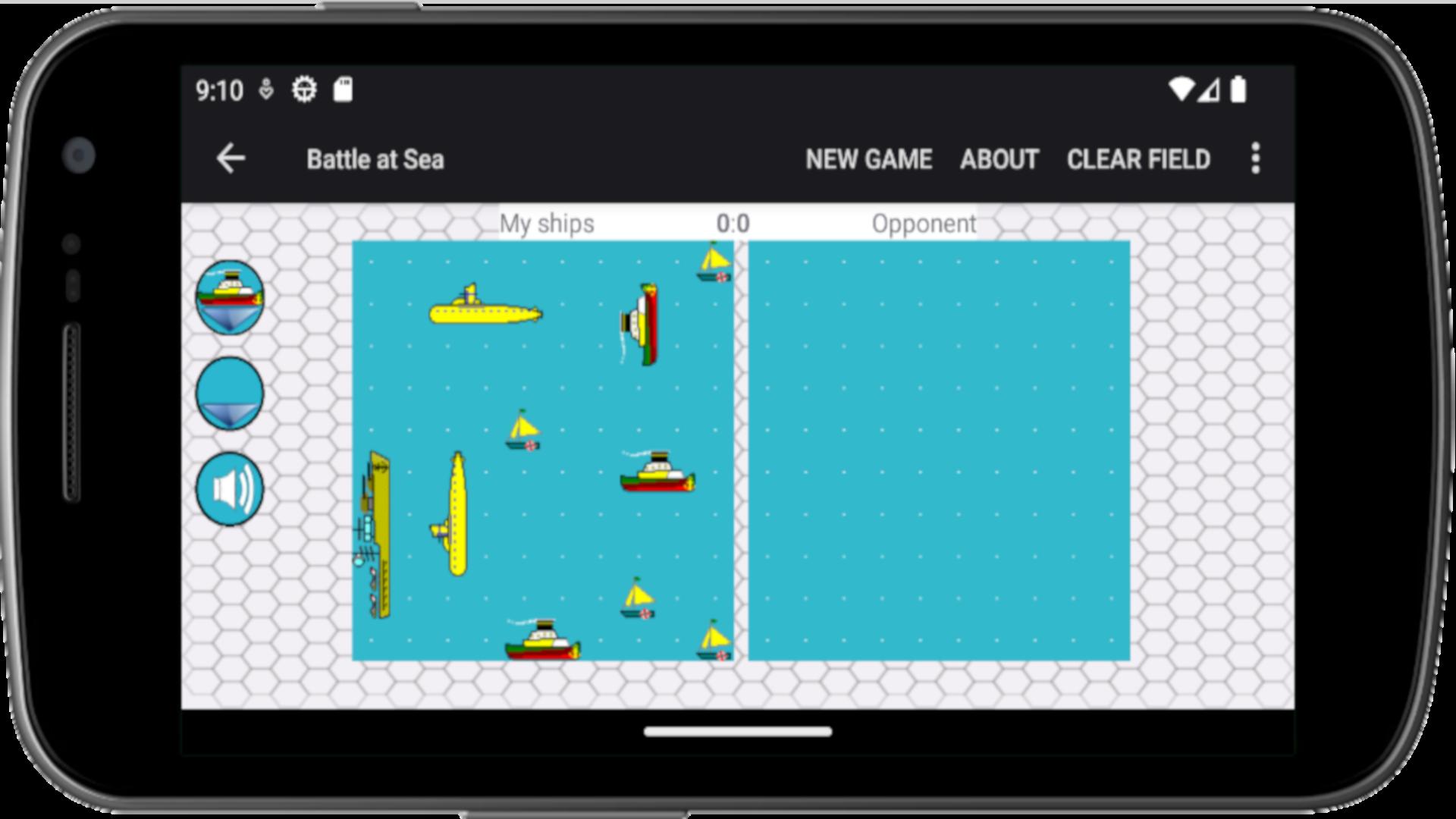 Battleship - Android game